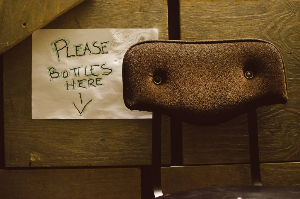 Please Bottles Here